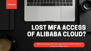 Remove Root Account MFA using RAM User in Alibaba Cloud