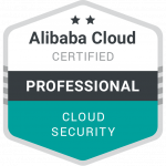 Alibaba Cloud Security Professional Chirag Nayyar Badge